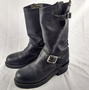 Chippewa Shoes - Chippewa L27863 Women 7.5 Black Moto Boots 167-18